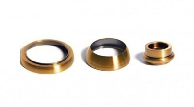 Комплект сменных колец для смесителя OMOIKIRI Amagasaki, античная латунь AM-01-AB