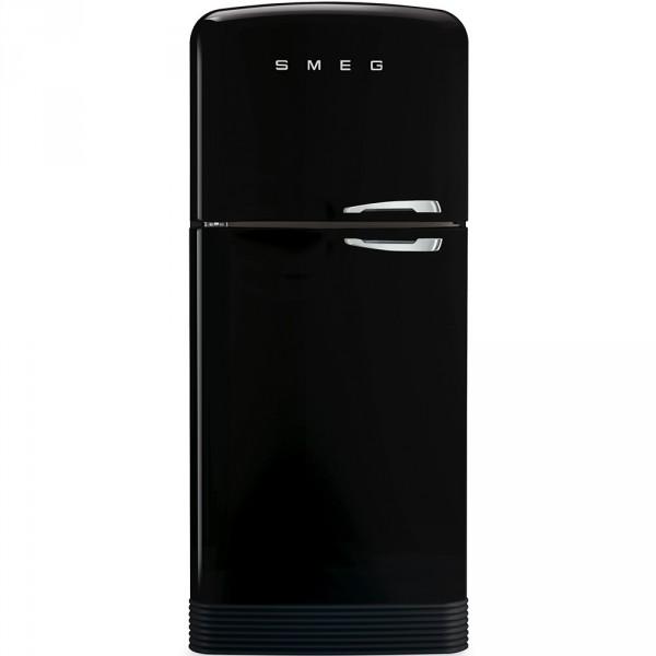 Отдельностоящий двухдверный холодильник Smeg FAB50LBL