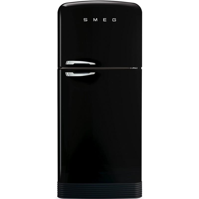 Отдельностоящий двухдверный холодильник Smeg FAB50RBL