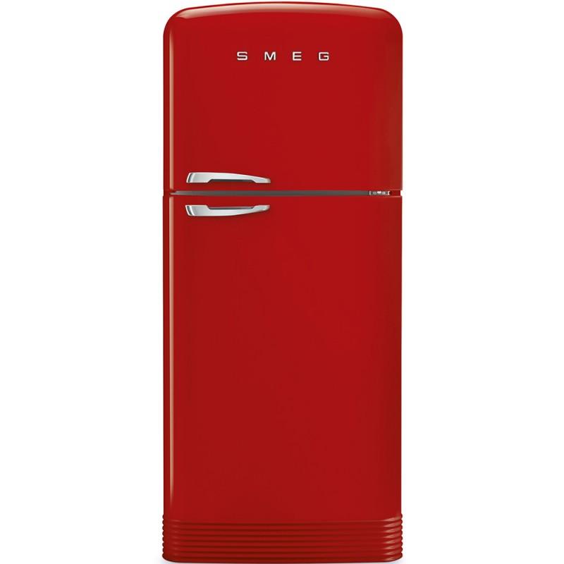 Отдельностоящий двухдверный холодильник Smeg FAB50RRD
