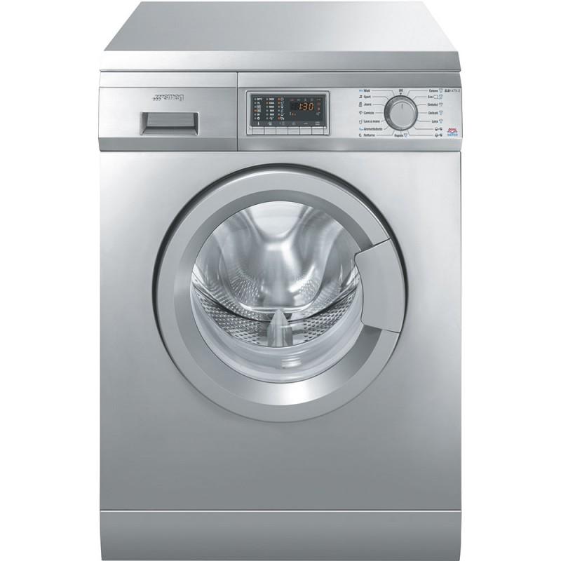 Отдельностоящая стиральная машина Smeg SLB147X-2