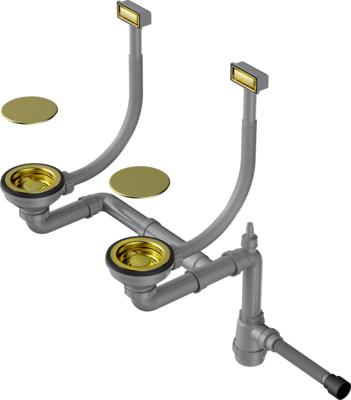 Арматура OMOIKIRI WK-2C-LG светлое золото