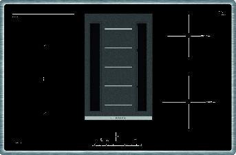 Индукционная панель с вытяжкой BOSCH PVS845F11E
