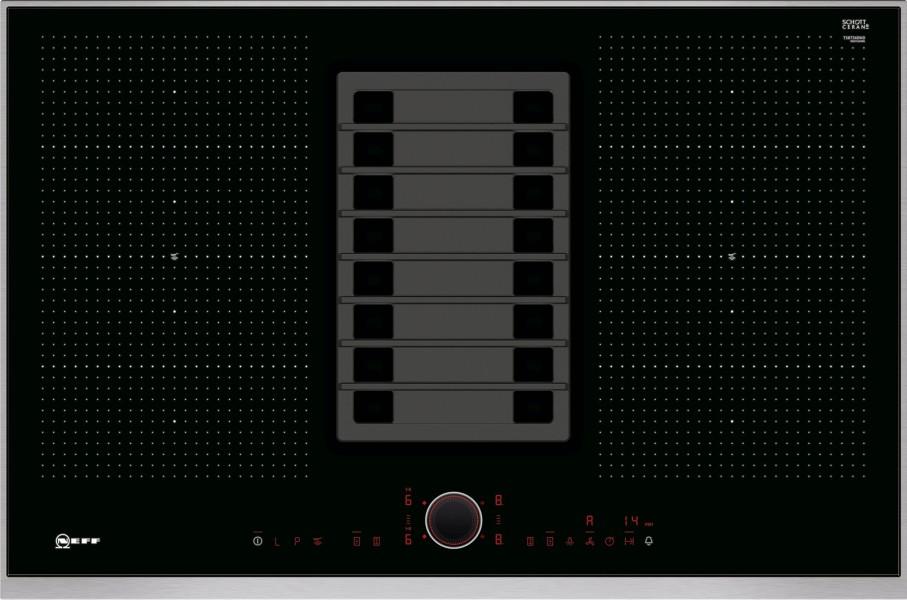 Индукционная варочная панель с интегрированной вытяжкой Neff T58TS6BN0