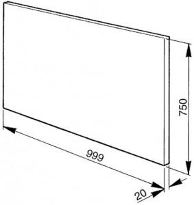 Стеновая панель SMEG KIT1A2-6