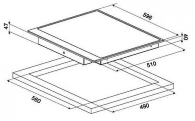 Стеклокерамическая варочная панель SMEG P764AO
