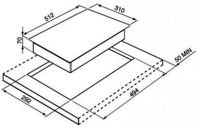 Стеклокерамическая варочная панель SMEG PGF32C