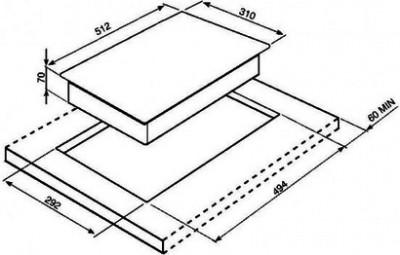 Индукционная варочная поверхность SMEG PGF32I-1