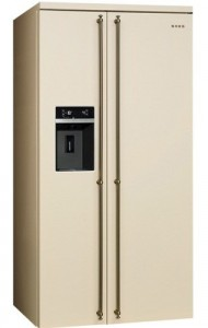 Холодильник Side by Side SMEG SBS8004P
