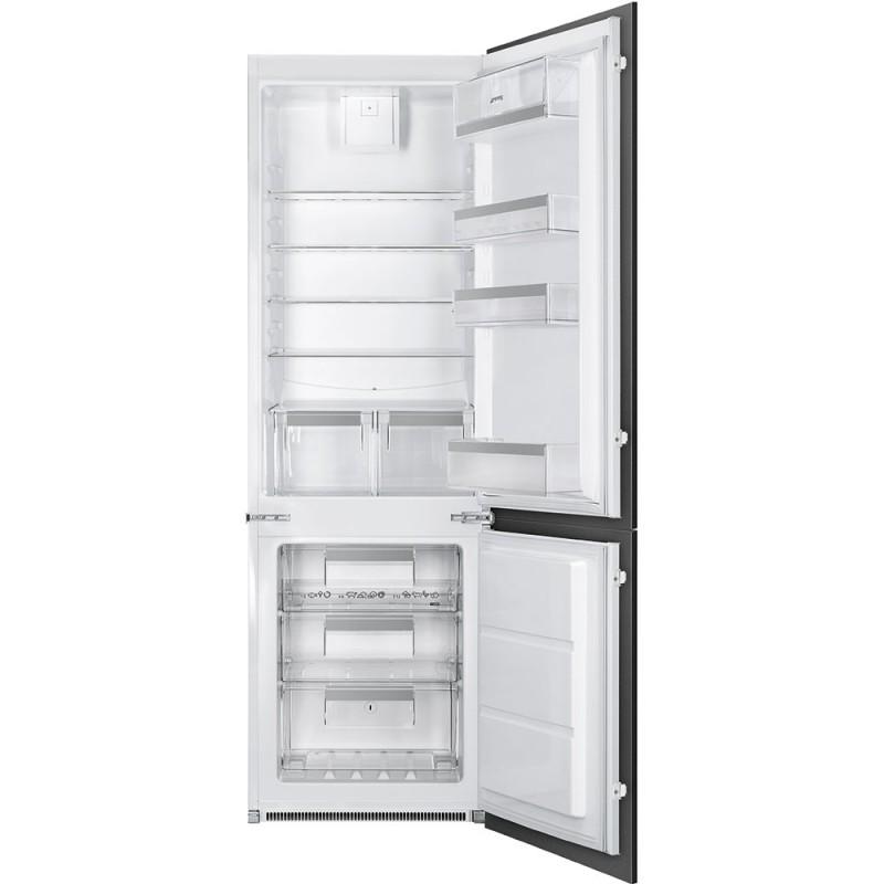 Встраиваемый комбинированный холодильник Smeg C7280NEP1