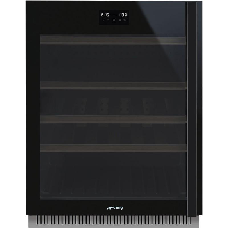 Холодильный шкаф для вина встраиваемый Smeg CVI638LWN2