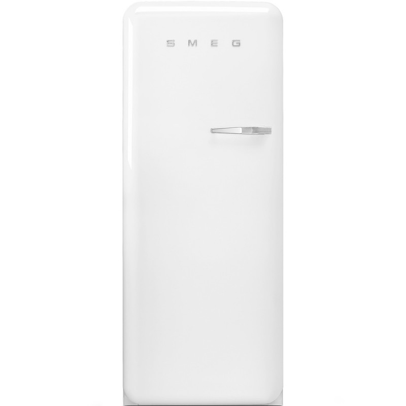 Отдельностоящий однодверный холодильник Smeg FAB28LWH3