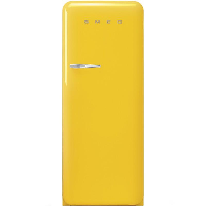 Отдельностоящий однодверный холодильник Smeg FAB28RYW3