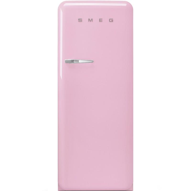 Отдельностоящий однодверный холодильник Smeg FAB28RPK3