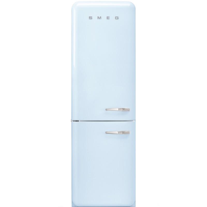 Отдельностоящий двухдверный холодильник Smeg FAB32LPB3