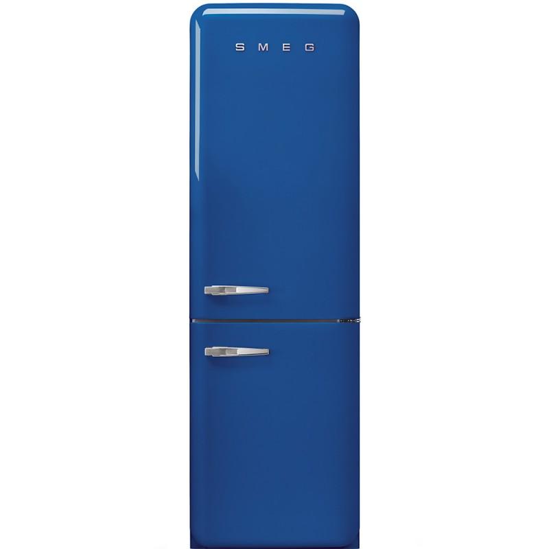 Отдельностоящий двухдверный холодильник Smeg FAB32RBE3