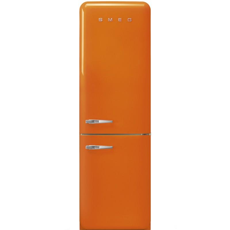 Отдельностоящий двухдверный холодильник Smeg FAB32ROR3