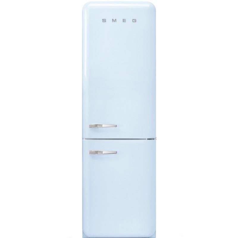 Отдельностоящий двухдверный холодильник Smeg FAB32RPB3
