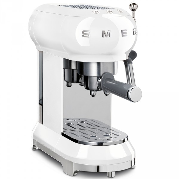 Кофемашина-эспрессо Smeg ECF01WHEU