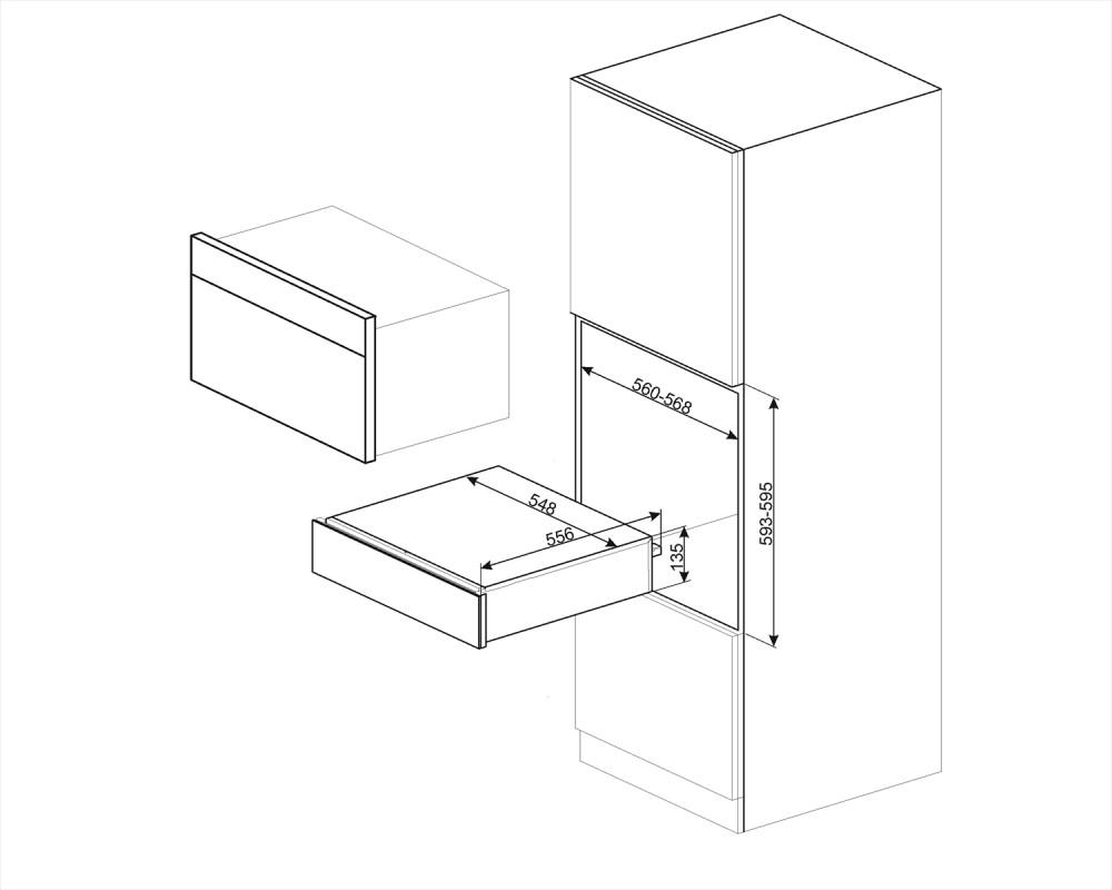 Ящик сомелье Smeg CPS115S