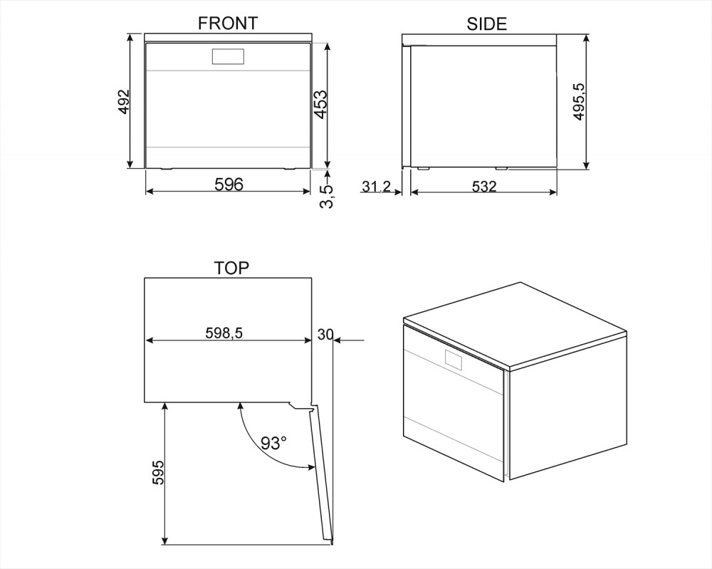 Холодильный шкаф для вина Smeg CVF318X
