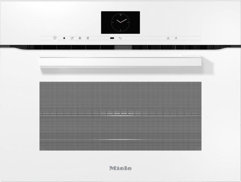 Духовой шкаф с СВЧ Miele H7640BM BRWS бриллиантовый белый