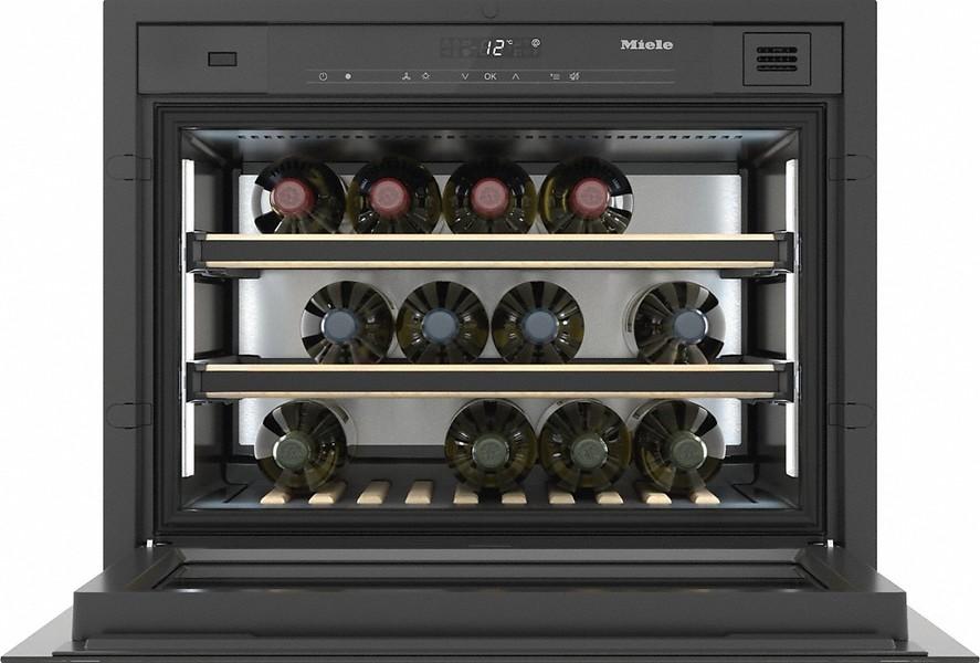 Винный холодильник Miele KWT7112iG grgr графитовый серый