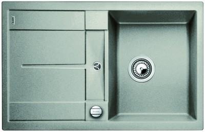 Мойка BLANCO METRA 45 S SILGRANIT жемчужный с клапаном-автоматом