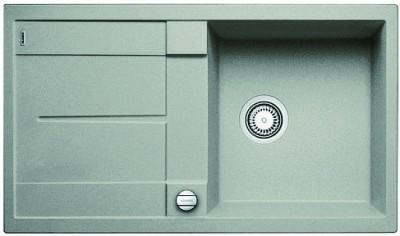 Мойка BLANCO METRA 5 S SILGRANIT жемчужный с клапаном-автоматом
