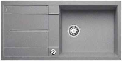 Мойка BLANCO METRA XL 6S SILGRANIT алюметаллик с клапаном-автоматом