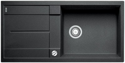 Мойка BLANCO METRA XL 6S SILGRANIT антрацит с клапаном-автоматом