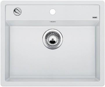 Мойка BLANCO DALAGO 6 SILGRANIT белый с клапаном-автоматом