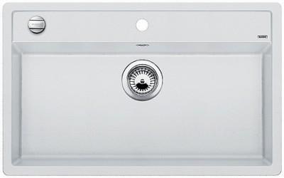 Мойка BLANCO DALAGO 8 SILGRANIT белый с клапаном-автоматом