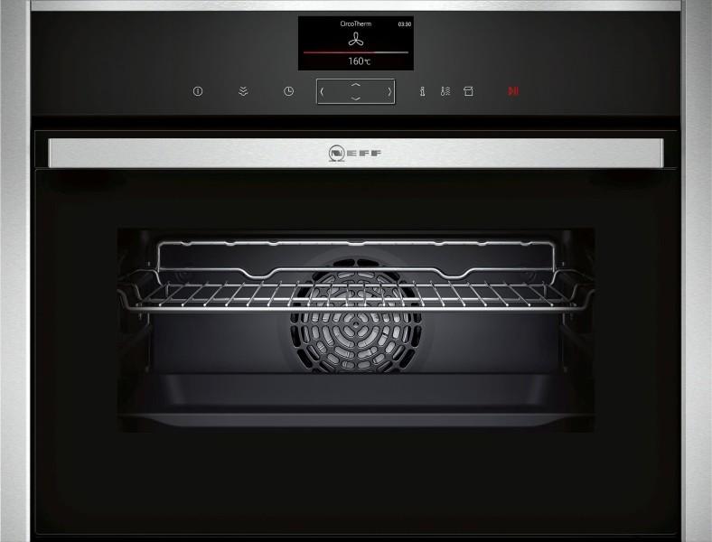 Встраиваемый компактный паровой духовой шкаф NEFF C17FS42N0