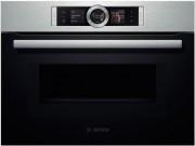 Встраиваемый компактный духовой шкаф с микроволнами Bosch CMG636BS1