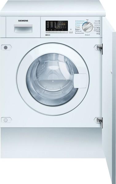 Встраиваемая стирально-сушильная машина Siemens WK14D541OE