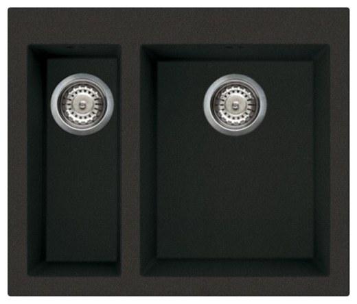 Мойка OMOIKIRI Bosen 59-2-BL Tetogranit/черный