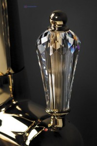 Смеситель OMOIKIRI Okinawa-G золото/ прозрачный кристалл
