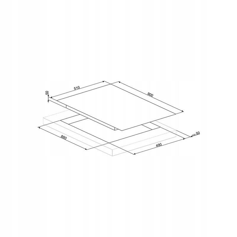 Индукционная варочная панель SMEG SIM693WLDR