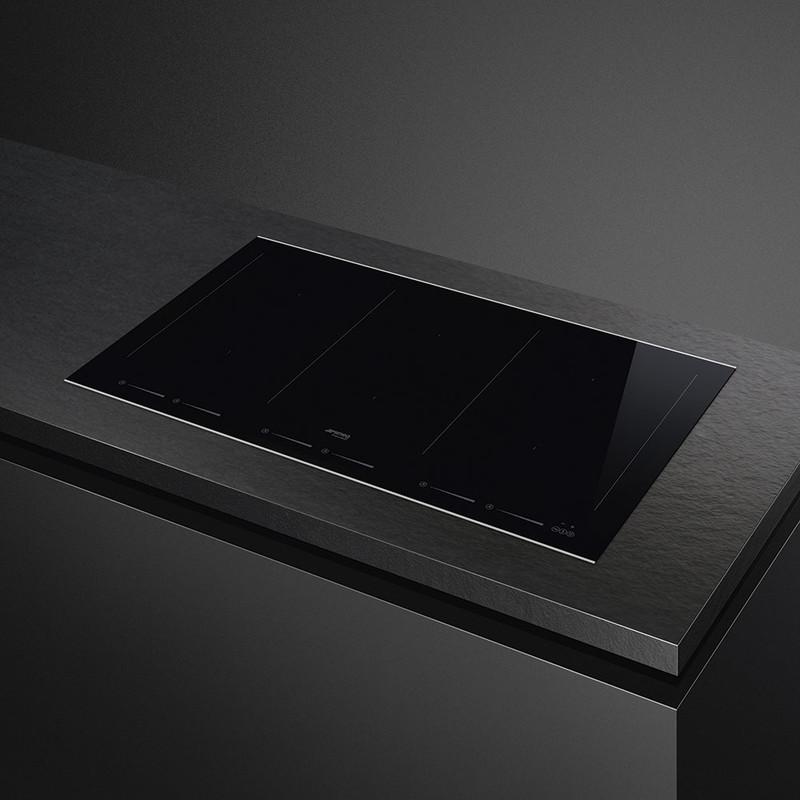 Индукционная варочная панель SMEG SIM693WLDX