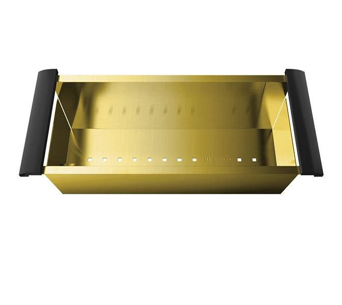Коландер OMOIKIRI CO-02-PVD-LG светлое золото