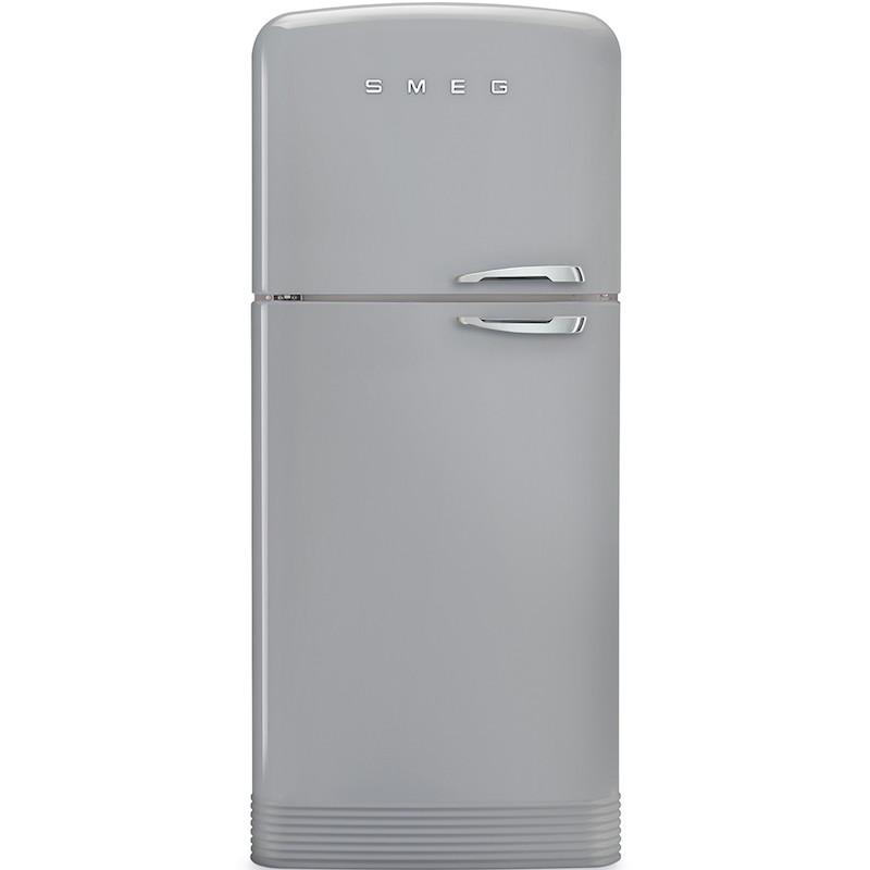Отдельностоящий двухдверный холодильник Smeg FAB50LSV