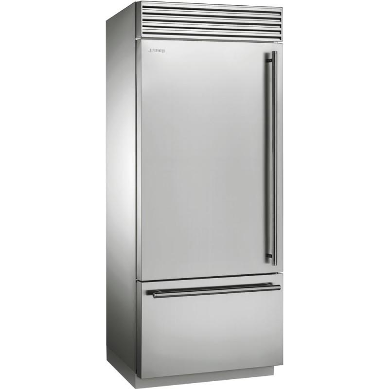 Отдельно стоящий холодильник Smeg RF396LSIX