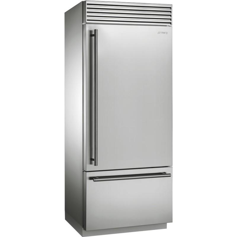 Отдельно стоящий холодильник Smeg RF396RSIX