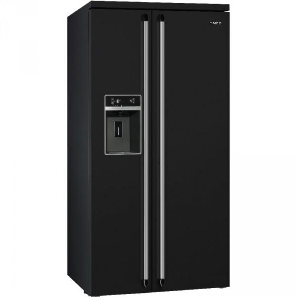 Отдельностоящий холодильник Side-by-Side Smeg SBS963N
