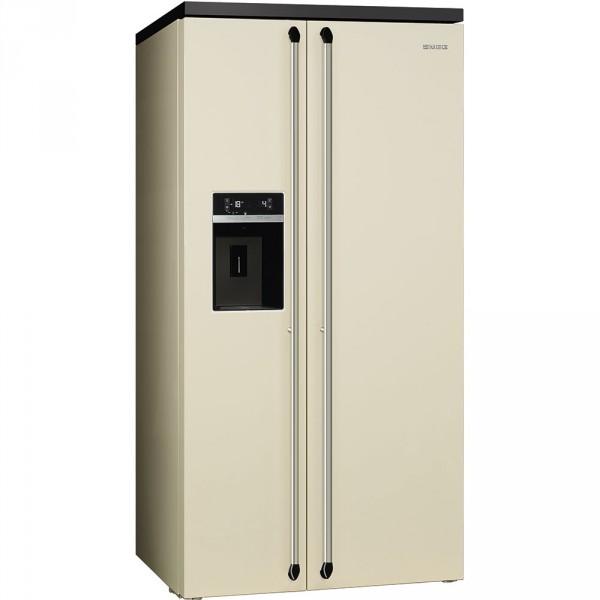 Отдельностоящий холодильник Side-by-Side Smeg SBS963P