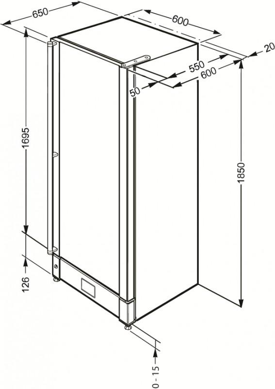 Холодильный шкаф для вина Smeg SCV115AS