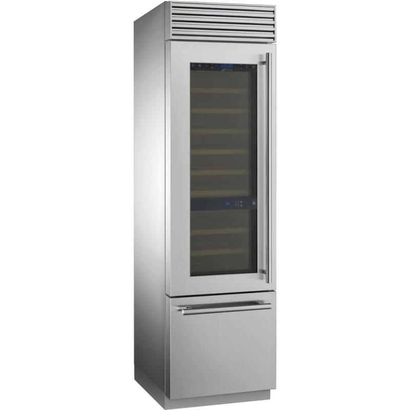 Винный холодильник отдельностоящий Smeg WF366LDX