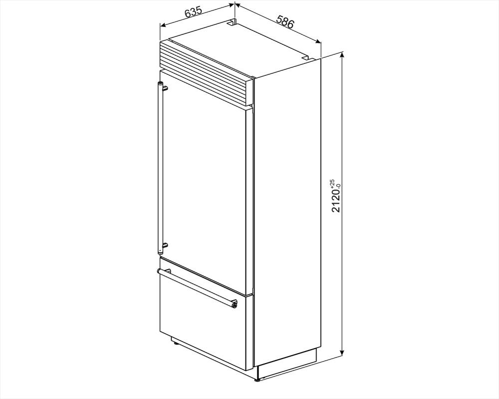 Винный холодильник отдельностоящий Smeg WF366RDX