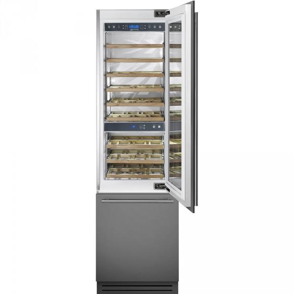 Винный холодильник встраиваемый Smeg WI66RS